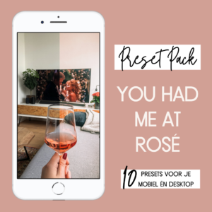 Preset Pack: You Had Me At Rosé